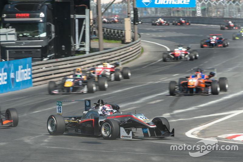 George Russell, HitechGP, Dallara F312 - Mercedes-Benz