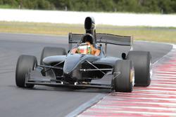 Tim Macrow im Testauto der Formula Thunder 5.000