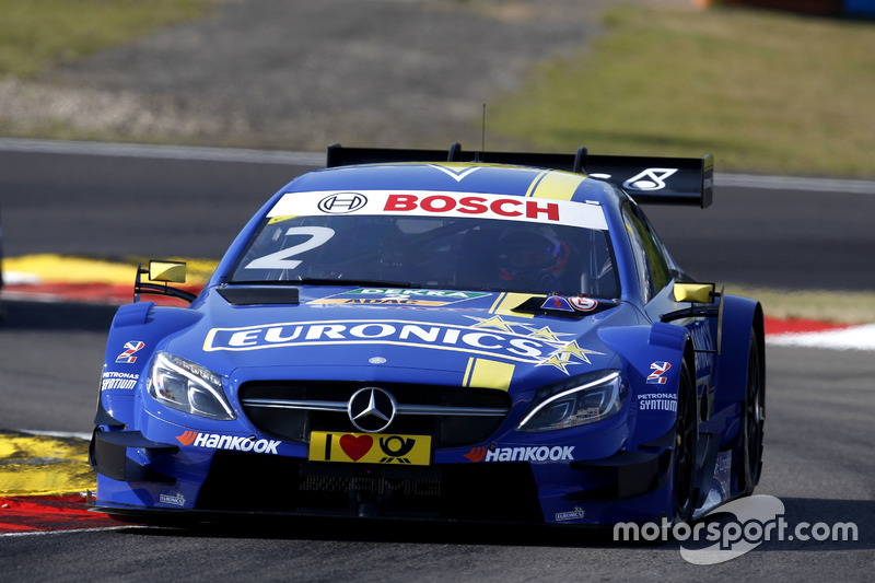 7. Gary Paffett, Mercedes-AMG Team ART, Mercedes-AMG C63 DTM