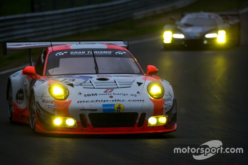 #12 Manthey Racing, Porsche 911 GT3 R: Otto Klohs, Dieter Schmidtmann, Jens Richter, Robert Renauer
