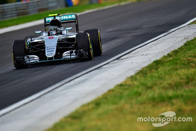 Ungarn, Budapest: Nico Rosberg (Mercedes)