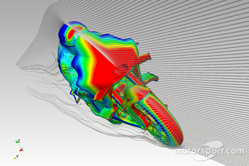Ducati winglet rendering
