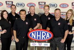 FOX Sports announcing team for 2016 NHRA season