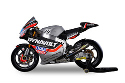 La moto de Marcel Schrötter y Sandro Cortese, Dynavolt Intact GP