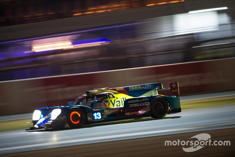 №13 Vaillante Rebellion Racing Oreca 07 Gibson: Матиас Беш, Давид Хайнемайер Ханссон, Нельсон Пике-мл.