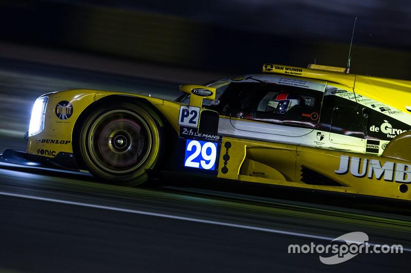 23. №29 Racing Team Nederland Dallara P217 Gibson: Рубенс Баррикелло, Ян Ламмерс, Фриц ван Эрд