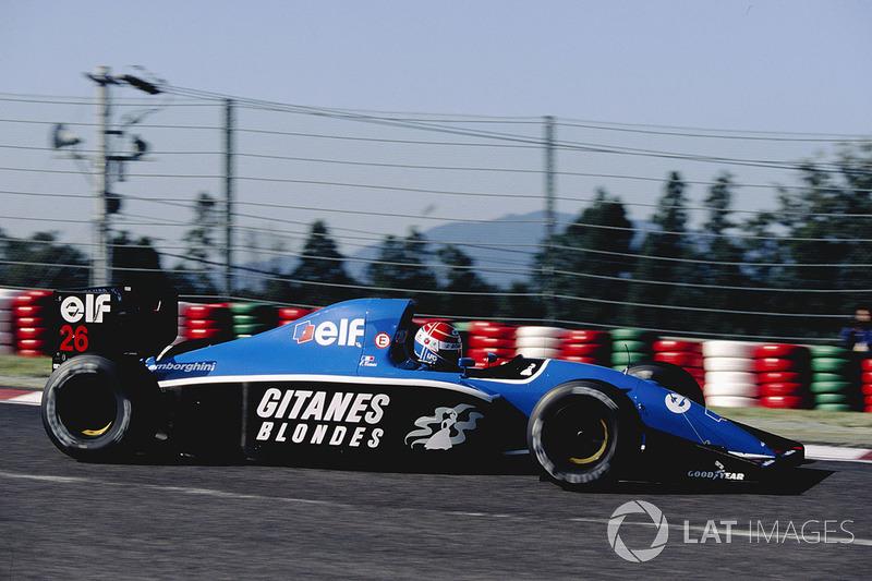 14. Erik Comas, 59 GPs (1991-1994). Seu melhor resultado é o 5° (França 1992).