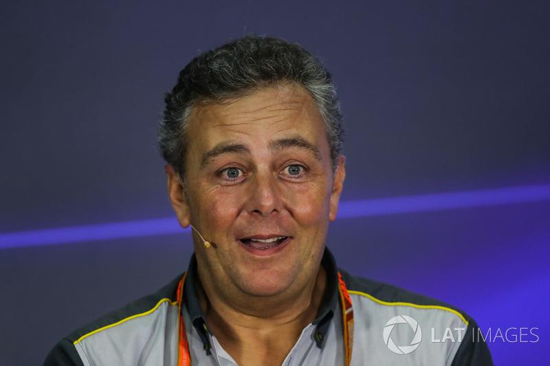 Гоночний директор Pirelli Motorsport Маріо Ізола