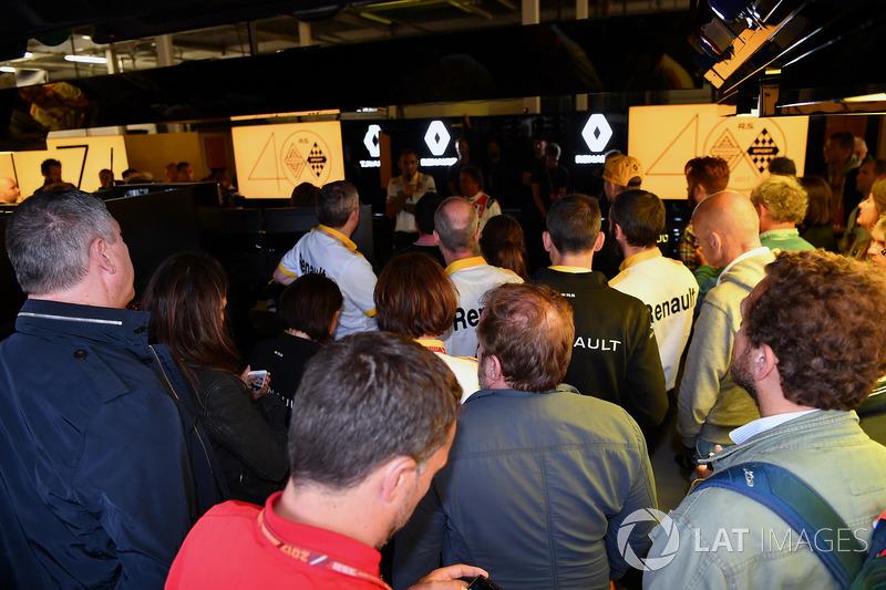 Renault evento del 40 aniversario Convocatoria de prensa