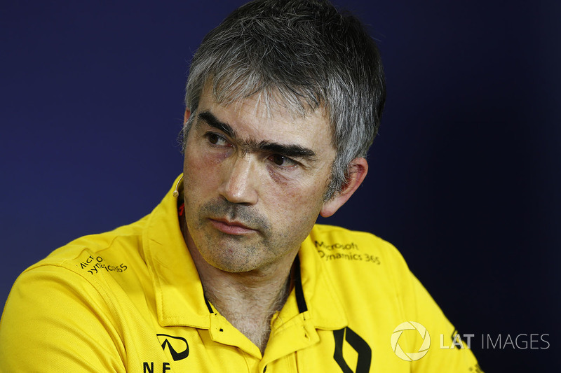 Nick Chester, Renault-Technikchef