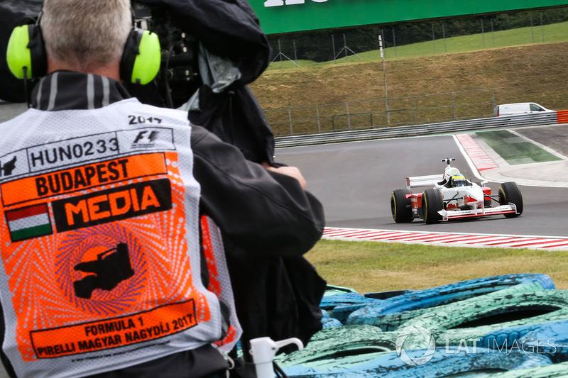 Cameraman, Zsolt Baumgartner, F1 Experiences coche de 2 plazas