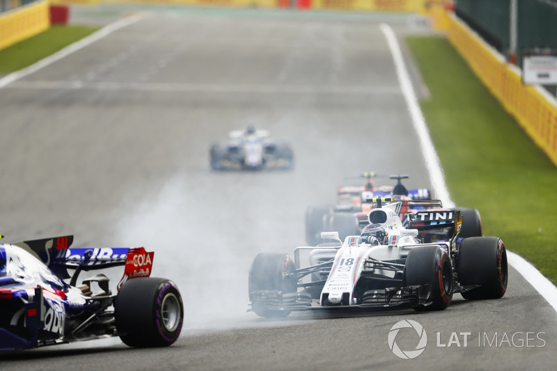 Карлос Сайнс-мол., Scuderia Toro Rosso STR12, Ленс Стролл, Williams FW40