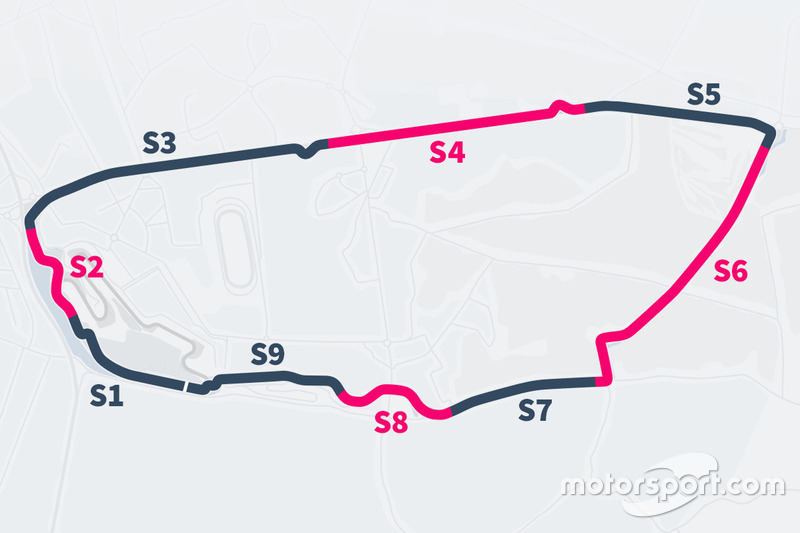 Le Mans slow zones