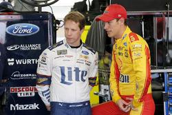Brad Keselowski, Team Penske Ford Joey Logano, Team Penske Ford