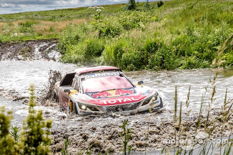 #100 Peugeot Sport Peugeot 3008 DKR: Cyril Despres, David Castera