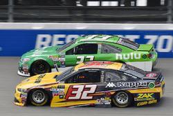 Matt DiBenedetto, Go Fas Racing Ford, Jeffrey Earnhardt, Circle Sport - The Motorsports Group Chevrolet