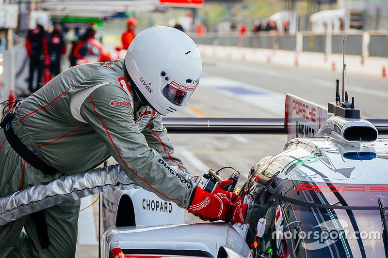 Porsche Team, #1 Porsche Team Porsche 919 Hybrid: Neel Jani, Andre Lotterer, Nick Tandy