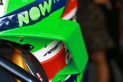 Gros plan sur le carénage d'Aleix Espargaro, Aprilia Racing Team Gresini