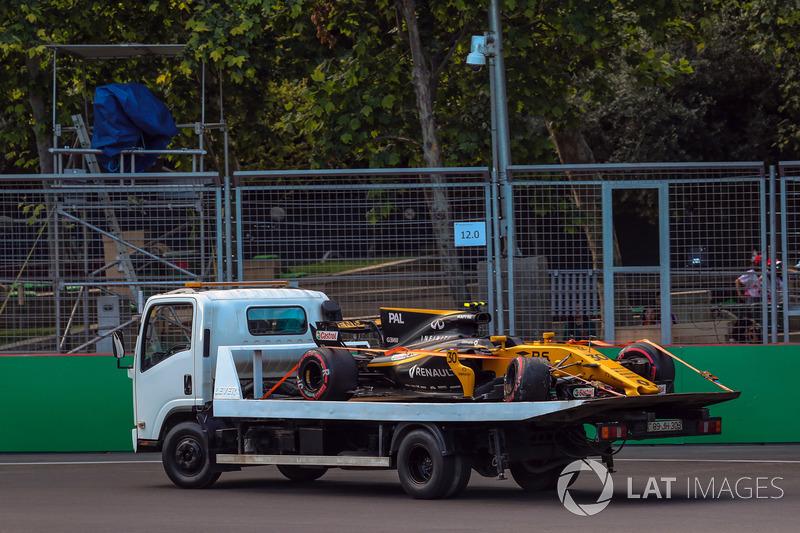 سيارة جوليون بالمر، رينو بعد الحادث
