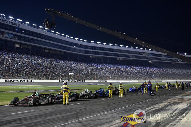 Will Power, Team Penske Chevrolet, in der Boxengasse