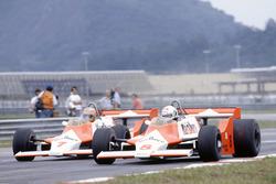 Andrea de Cesaris, John Watson, McLaren M29F-Ford Cosworth