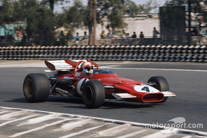 1969-1971: Ferrari 312B (пять побед, 6-е место в КК в 1969-м, 2-е место в КК в 1970-м)