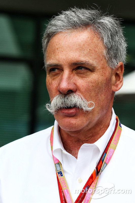 Chase Carey, Formel-1-Chef