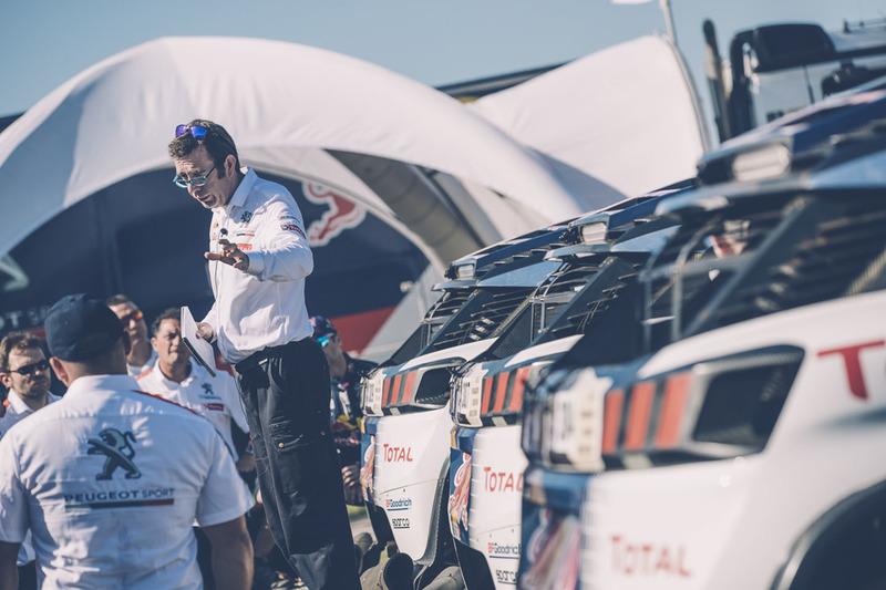 Bruno Famin, Team Peugeot Sport