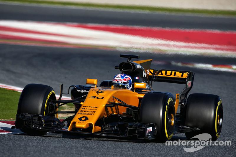12º Jolyon Palmer, Renault RS17, 1m20.205s (ultrablandos)
