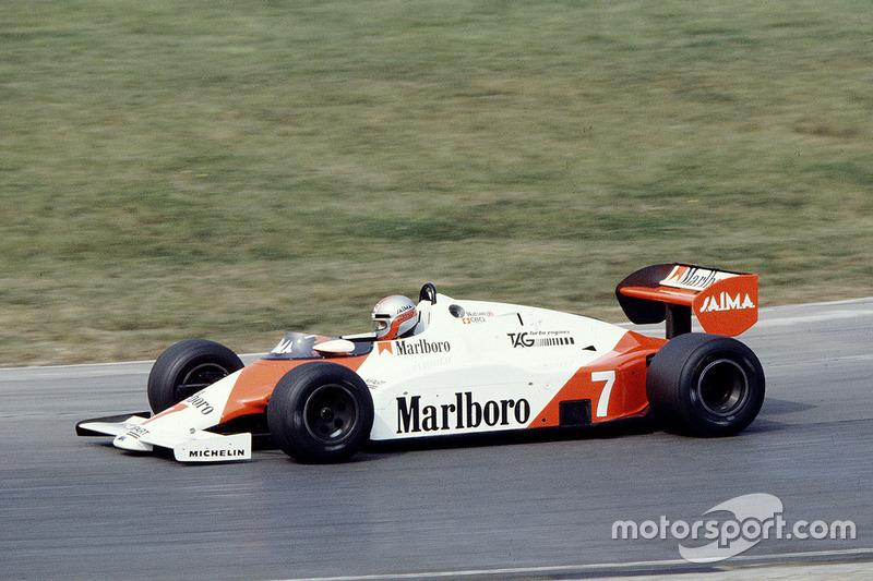 1983. McLaren MP4/1E TAG Porsche