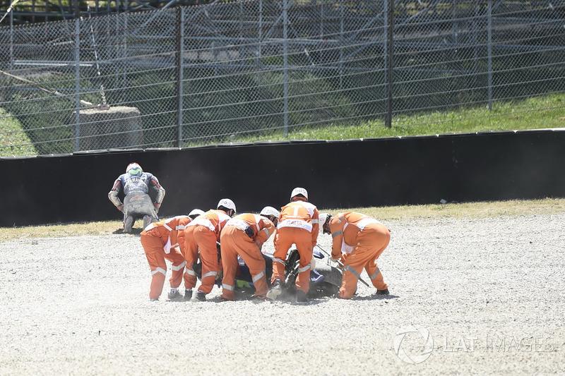 Аварія Маверіка Віньялеса, Yamaha Factory Racing