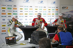 Press conference, Lando Norris, Carlin Dallara F317 - Volkswagen, Maximilian Günther, Prema Powerteam Dallara F317 - Mercedes-Benz, Callum Ilott, Prema Powerteam, Dallara F317 - Mercedes-Benz
