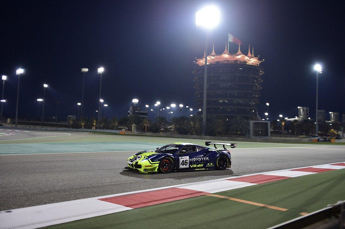 #46 VR46 Kessel Ferrari 488 GT3: Valentino Rossi, Luca Marini, Alessio Salucci