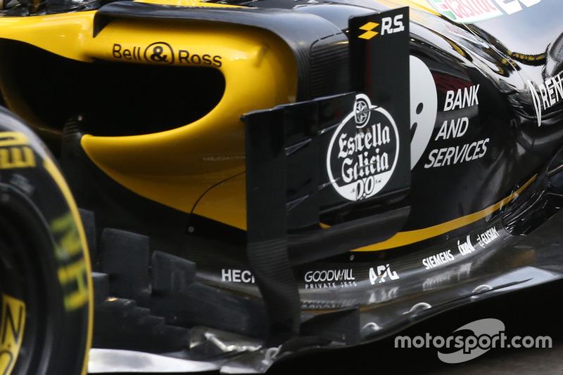 Renault R.S. 18, Nico Hulkenberg, technikai részlet