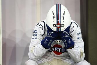 Williams-monteur heeft het zwaar