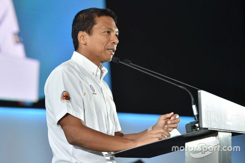Ahmad Razlan Ahmad Razali, CEO del Sepang International Circuit