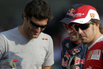 Mark Webber, Red Bull Racing RB6, Jaime Alguersuari, Toro Rosso STR5 Ferrari, Fernando Alonso, Ferrari F10