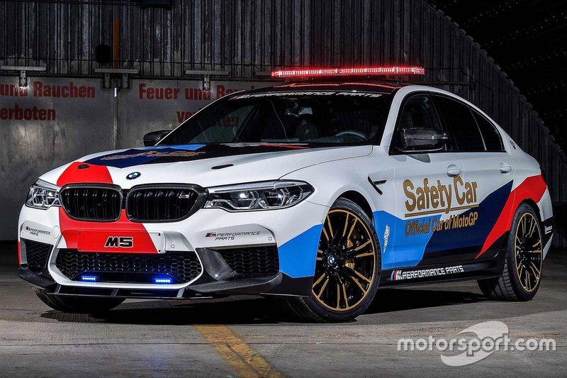 2018: BMW M5 safety car