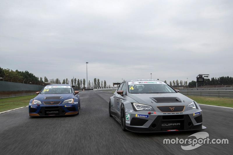 Matteo Greco, Cupra Leon TCR SEQ e Salvatore Tavano, Cupra Leon TCR SEQ