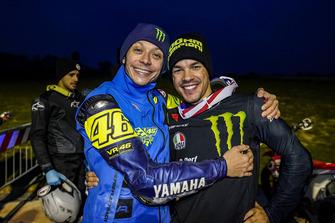 Valentino Rossi and Franco Morbidelli