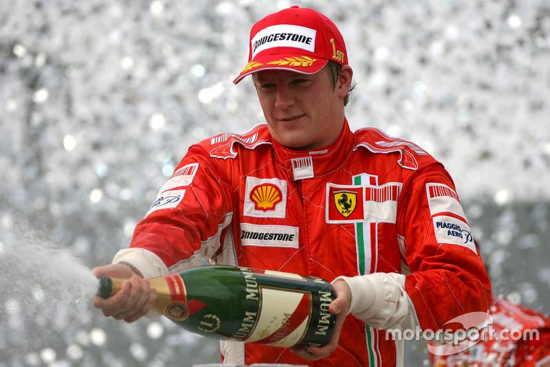 1: Kimi Räikkönen (2007)