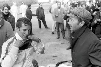 Mario Andretti, Lotus, mit Colin Chapman