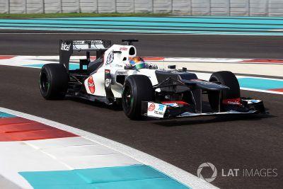 Test de jeunes pilotes à Abu Dhabi