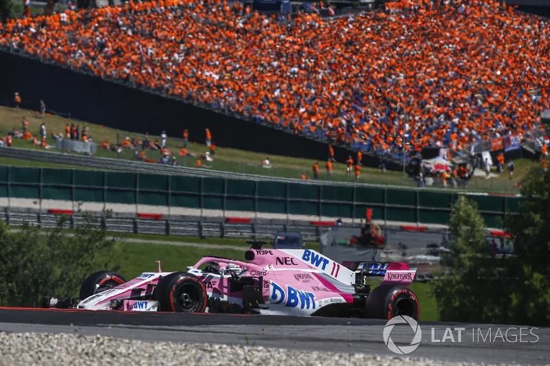 P7: Sergio Perez, Force India VJM11