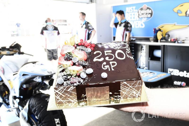 Thomas Luthi, Estrella Galicia 0,0 Marc VDS con 250 GP