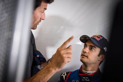 Le test de Pedrosa et Cairoli dans une F1