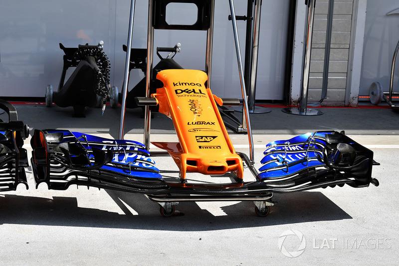 Sayap depan McLaren MCL33