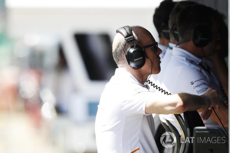 Simon Roberts, Direttore delle operazioni, McLaren