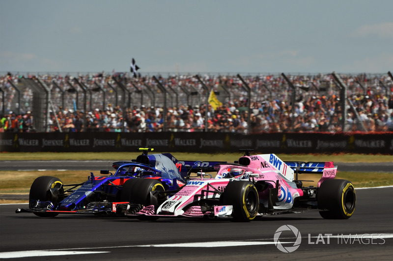 Perez complains about Gasly's move for P10