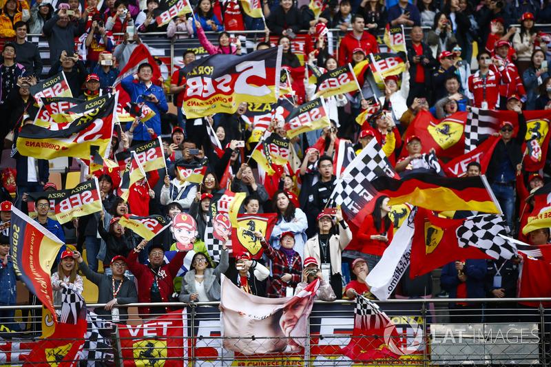 Du soutien pour Sebastian Vettel, Ferrari